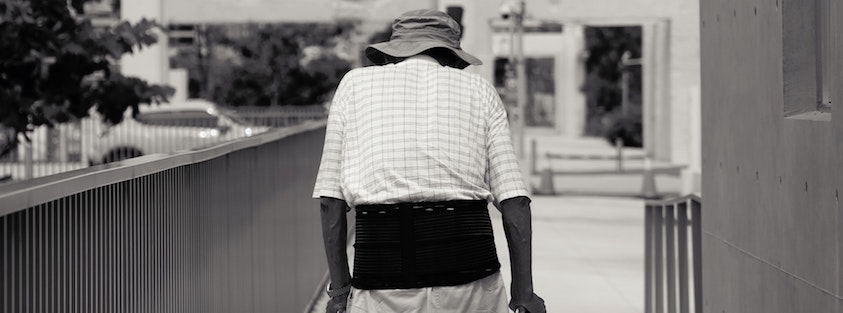 back brace for injury future loss of income