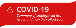 Employment Law and COVID-19
