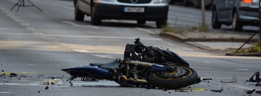 motorcyclist crash