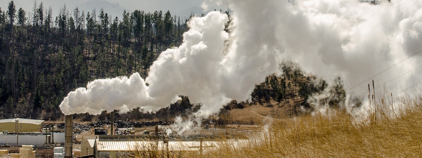 Sawmill fire in BC